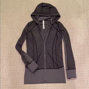 Lululemon Grey Zip-Up Jacket